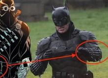 The Batman: Logo làm từ khẩu súng lục và những chi tiết đặc biệt trong trang phục mới của Batman