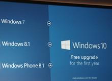 Tất tật lý do bạn cần phải gấp rút cập nhật từ Windows 7 lên bản 10