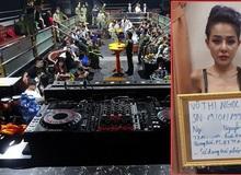Ngân 98 cùng hàng chục dân chơi dương tính với ma tuý trong quán bar ở Tây Ninh
