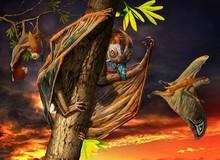 Luôn treo mình lộn ngược trên cây như loài dơi, đây nhất định là loài thằn lằn bay cổ đại kỳ lạ nhất từng tồn tại ở Trung Quốc
