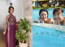 Mỹ nhân 18+ Nhật Bản bất ngờ tới Việt Nam, khoe nhan sắc trong tà áo dài, fan rần rần khen ngợi nhan sắc