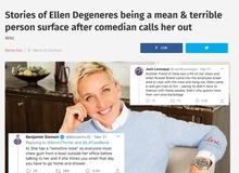 Twitter chao đảo với những câu chuyện vạch trần bà hoàng Talkshow Ellen DeGeneres