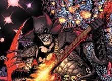Batman sẽ quẩy guitar khắc hình Alfred trong sự kiện DARK NIGHTS: DEATH METAL