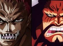One Piece: Kaido là một trong 43 người chồng của Big Mom, Katakuri có phải là con riêng của hai tứ hoàng này?