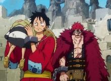 """One Piece: Quá khổ vì Luffy, giờ đây Law còn thêm đau đầu vì xuất hiện thêm một """"thánh trẩu"""" Kid"""