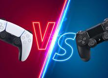 Tay cầm DualSense của PS5 khác với DualShock 4 như thế nào?