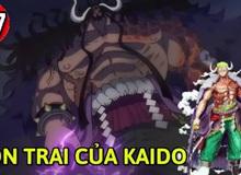 """One Piece: Lộ diện hình ảnh đứa con trai """"bí ẩn"""" của Kaido, có sừng và bị hói đầu?"""