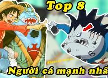 One Piece: Điểm mặt top 8 người cá mạnh nhất từng xuất hiện, Jinbei chỉ xếp hạng thứ 3
