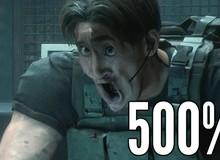 Chết cười với khuôn mặt các nhân vật trong Resident Evil 3 Remake sau khi được biến đổi