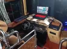 Game thủ biến xe khách cũ thành góc chơi game có một không hai