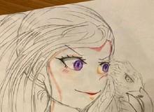 """Đúng là """"con nhà tông không giống lông thì cũng giống cánh"""", con của Yusuke Murata vẽ đẹp chẳng kém gì cha"""
