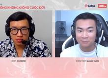 Hot streamer Quang Cuốn: 'Ốm bẹp giường 1 tháng trời khi mới vào nghề', khẳng định mình và Linh Ngọc Đàm 'chỉ là bạn'