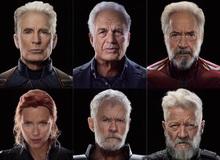 """Fan trổ tài photoshop biến Avengers thành """"hội người cao tuổi"""", Cap vẫn đẹp lão không kém phiên bản chính chủ của Marvel"""