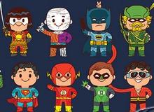 Mê mệt khi ngắm dung nhan và biểu cảm đáng yêu của dàn siêu anh hùng khi còn nhỏ