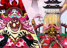 Soi One Piece 978: Đám con Big Mom đã tới đảo Quỷ, Kanjuro bị chặn trên đường về báo tin cho Kaido