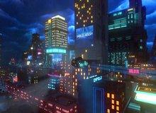 Xuất hiện tựa game giống Cyberpunk 2077, cho phép người chơi lái xe bay quanh thành phố tương lai