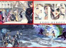 Exoes Heroes - Game nhập vai đánh theo lượt quy tụ hơn 200 tướng của LINE Games mở đăng ký