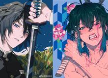 Ngắm chân dung dàn nhân vật Kimetsu no Yaiba xuất hiện đầy lãng tử trong loạt ảnh fan art