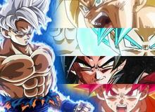 Dragon Ball: 5 hình thức Super Saiyan mà Goku không thể sử dụng
