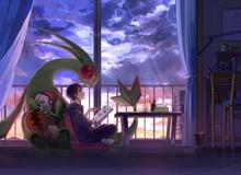 """Nhìn loạt tranh """"Pokemon và con người cùng chung sống hạnh phúc"""" mà chỉ muốn bắt chúng về làm pet"""