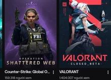 Sức hút khủng khiếp của VALORANT: Đạt triệu view trên Twitch, sập server ngày ra mắt vì người chơi tham gia quá đông