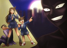 """Loạt tranh siêu hài về """"bóng ma"""", kẻ nguy hiểm nhất trong Thám tử Conan"""