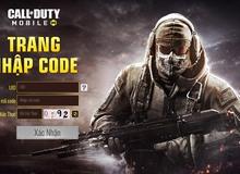 Call of Duty: Mobile VN gửi tặng anh em 1500 giftcode giá trị