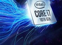 Intel ra mắt CPU Core thế hệ 10 vô cùng mạnh mẽ, chiến game tuyệt đỉnh