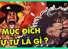 """One Piece: Chịu quá nhiều đau khổ trong quá khứ khiến Kaido """"hận đàn bà"""" và trở nên nghiện rượu?"""