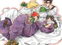 """Dragon Ball: Ngắm loạt ảnh """"thân mật"""" giữa Piccolo - Gohan mới thấy tình cảm thầy trò thật tuyệt"""