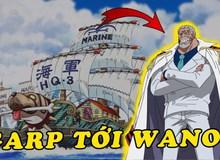 """One Piece: """"Anh hùng hải quân"""" Monkey D. Garp sẽ chết vì đến Wano giải cứu cháu nội Luffy?"""