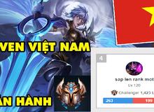 Xuất hiện 'thánh onechamp' Riven người Việt sắp top1 Thách Đấu Châu Âu, bán hành cả tuyển thủ LEC