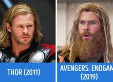 """Hoảng hốt trước màn """"dậy thì"""" của dàn sao Avengers từ lần đầu xuất hiện cho đến nay, số 4 khiến người hâm mộ không khỏi thương tâm"""