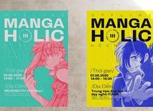Offline MangaHolic lần 3 - Sự kiện giao lưu đình đám dành cho fan manga sắp được tổ chức vào cuối tuần này, bạn đã sẵn sàng chưa?