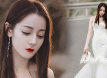 Cả Weibo nức nở vì loạt ảnh Địch Lệ Nhiệt Ba mặc váy cưới: Visual lẫn body đều hoàn mỹ, góc nghiêng quá xuất sắc