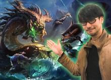 Tượng đài Hideo Kojima sẽ trở thành cha đẻ của tựa game MMORPG Liên Minh Huyền Thoại do Riot Games sản xuất?