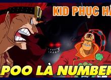 """One Piece 980: Luffy và Zoro tạm thời """"lún"""", tạo đất diễn cho 2 Siêu Tân Tinh Apoo và Kid thể hiện thực lực"""