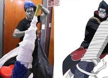 Naruto: Nếu xem đống ảnh dìm hàng của thánh cosplay giá rẻ, đến nhóm Akatsuki cũng phải đội mồ sống lại