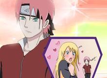 """Naruto: Vợ Sasuke hóa """"soái ca"""" bảnh bao, thân hình thắt đáy lưng ong giờ cơ bắp cuồn cuộn"""
