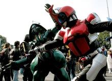 Ngắm bộ ảnh cosplay Kamen Rider Kabuto siêu đẳng cấp của các fan