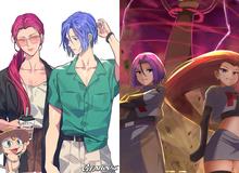 Ngắm trọn loạt tranh vẽ về Team Rocket, những tên tội phạm tội nghiệp trong thế giới Pokemon