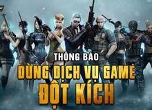 Nóng! VTC Game đột ngột thông báo chính thức dừng dịch vụ game Đột Kích