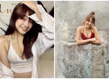 Đá chéo sân làm Youtuber được 2 tháng, hot girl xinh đẹp đã học ngay chiêu trò nhờ người xem tư vấn rồi thử 30 bộ bikini trên sóng