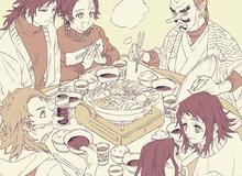 """Kimetsu no Yaiba: Khi Thủy trụ Giyuu và Tanjirou được đặt cạnh nhau, hai trai tài hóa """"uyên ương hồ điệp"""""""