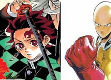 Tác giả One Punch Man khen nức nở Kimetsu no Yaiba, cảm ơn vì đã góp công lớn cho nền truyện tranh Nhật Bản