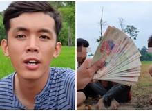 Youtuber nghèo nhất Việt Nam khoe thu nhập khủng, hé lộ số tiền trả cho người tham gia clip