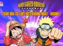 Vòng 2 của Kim Đồng Comics Tournamet: One Piece giữ ngôi đầu bảng, cạnh tranh gay gắt giữa các bộ manga