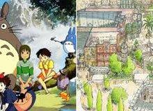"""Hé lộ toàn cảnh bản đồ công viên Ghibli- nơi tái hiện những """"tuyệt tác"""" hoạt hình Nhật Bản"""