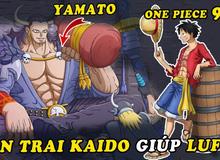 """Spoiler One Piece chap 983: Luffy đấm thẳng vào mặt Ulti, Yamato xuất hiện muốn cùng Mũ Rơm """"rủ nhau đi trốn"""""""