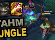Phát hiện ngoài sức tưởng tượng của game thủ - 'Thần bóp' Tahm Kench là kẻ đi rừng nhanh nhất game